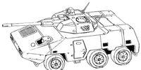 SRA Combat Armored Car A