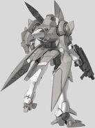 GNX-603T GN-X Rear Machine Gun