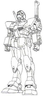 Front (w/ Shoulder Cannon)