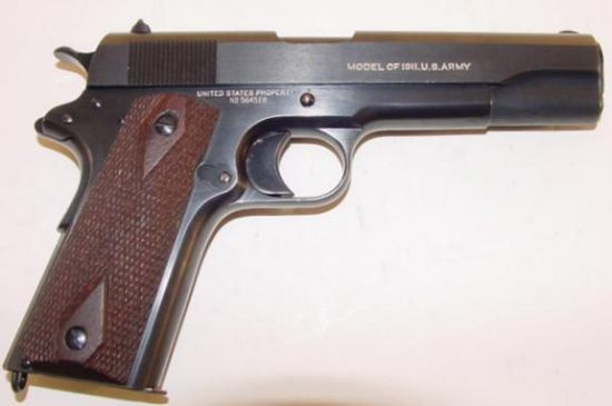 Browning Automatic Pistol M1911 - Richardcyoung.com
