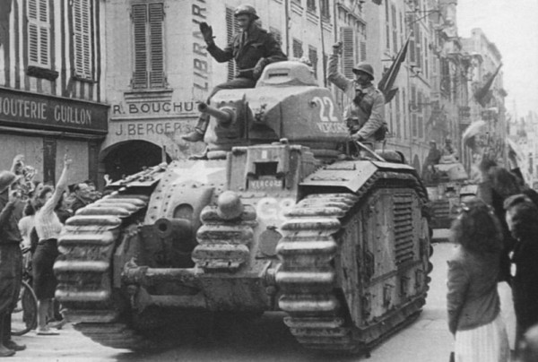 Image result for Char B, The French Heavy Tank From 1940