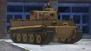 Tiger I pivot