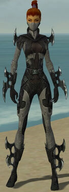 Assassin Kurzick Armor F gray front