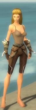 Ranger Asuran Armor F gray arms legs front