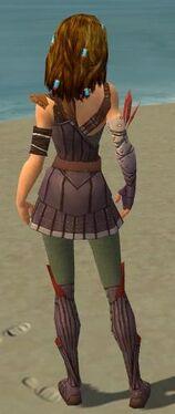 Ranger Tyrian Armor F gray back