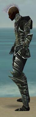 Necromancer Fanatic Armor M gray side