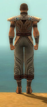 Monk Asuran Armor M gray back