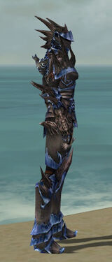 Warrior Primeval Armor F dyed side