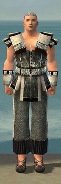 Monk Elite Sunspear Armor M gray front