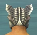 Warrior Templar Armor M gray head back