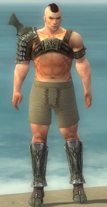File:Warrior Elite Gladiator Armor M gray chest feet front.jpg