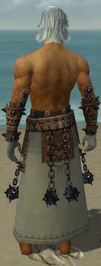 Dervish Obsidian Armor M gray arms legs back