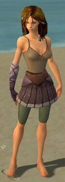 Ranger Tyrian Armor F gray arms legs front