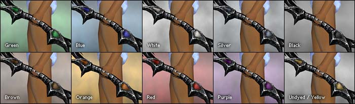 Undead Recurve Bow colored