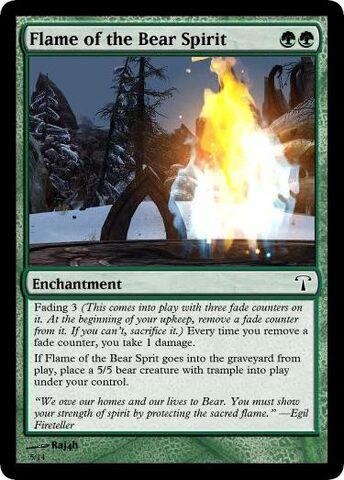 File:MTG Flame of the Bear Spirit.jpg