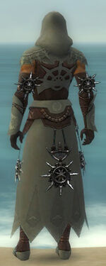 Dervish Elite Sunspear Armor M gray back