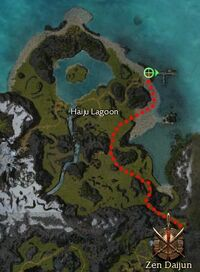 Hanzing Pier Map