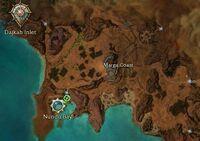 Marga Coast Map
