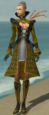 Mesmer Elite Elegant Armor F dyed front