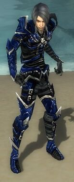 Necromancer Elite Profane Armor M dyed front
