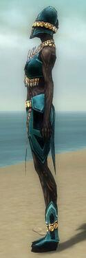 Ritualist Elite Kurzick Armor F dyed side