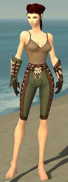 Ranger Krytan Armor F gray arms legs front