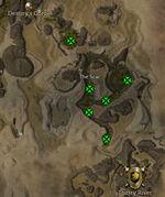 Losaru bosses in The Scar map