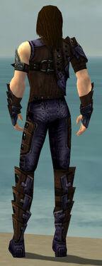 Ranger Obsidian Armor M dyed back