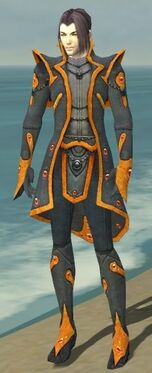 Elementalist Tyrian Armor M dyed front