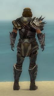 Warrior Deldrimor Armor M gray back