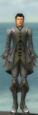 Elementalist Kurzick Armor M gray front