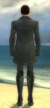 Mesmer Elite Enchanter Armor M gray back