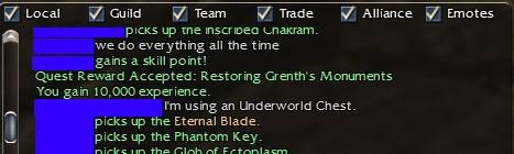 Eternal Blade gw Eternal Blade From uw Chest