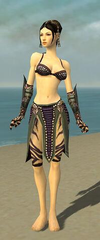 File:Ritualist Obsidian Armor F gray arms legs front.jpg