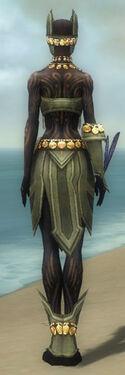 Ritualist Elite Kurzick Armor F gray back