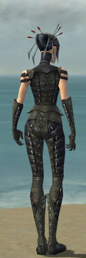 Necromancer Ascalon Armor F gray back