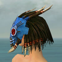 Dread Mask F dyed side