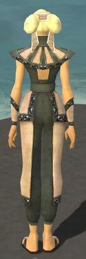 Monk Obsidian Armor F gray back
