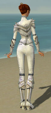 Elementalist Tyrian Armor F gray back