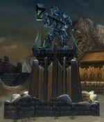 Droknar Statue
