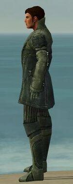 Mesmer Kurzick Armor M gray side