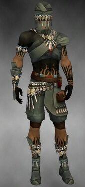Ritualist Luxon Armor M gray front