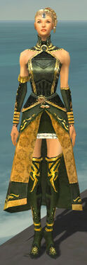 Mesmer Sunspear Armor F gray chest feet front