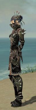 Necromancer Elite Luxon Armor F gray side