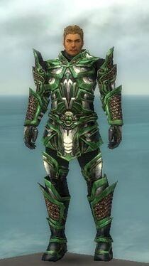 Warrior Elite Kurzick Armor M nohelmet