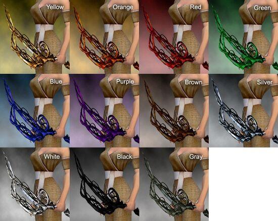 Bramble Longbow Dye Chart