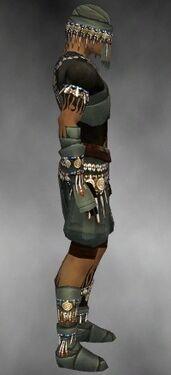 Ritualist Luxon Armor M gray side