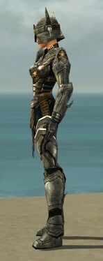 Warrior Elite Sunspear Armor F gray side