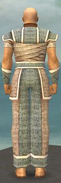 Monk Woven Armor M gray back