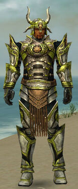 Warrior Elite Sunspear Armor M dyed front
